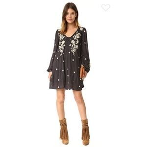 Sweet Tennessee Embroidered Mini Dress